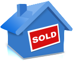 Blue-House-Sold-icon